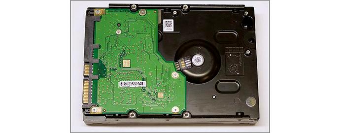 circuito hard disk