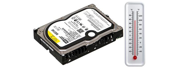 controllare temperatura hard disk
