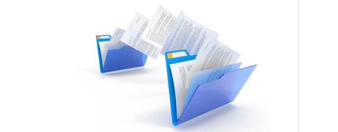 spostare documenti computer