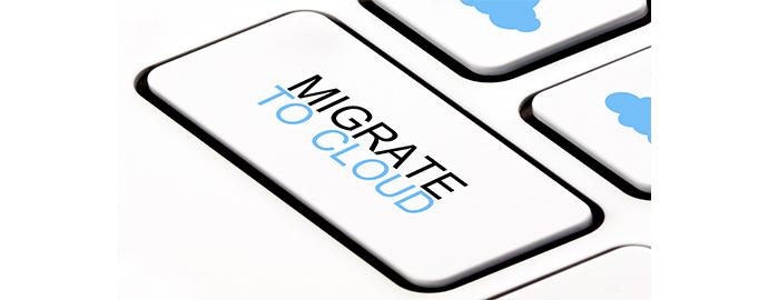 migrare file cloud
