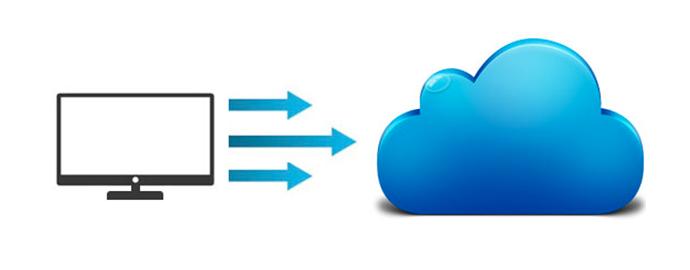 spostare file cloud