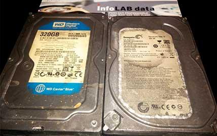 Hard Disk Bruciato