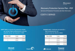 Assicurazione dati iRecovery