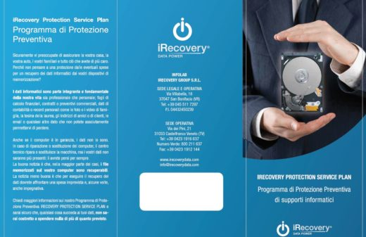 Protection Plan iRecovery Brochure