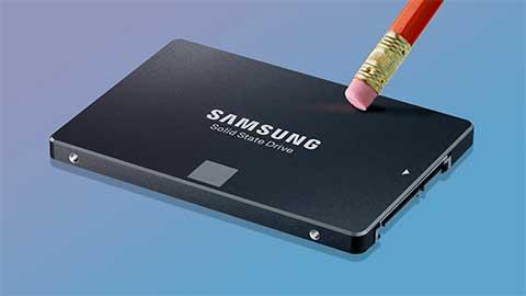 Cancellare SSD