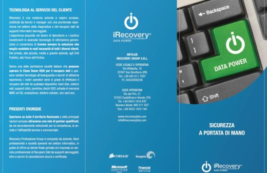 Brochure Corporate iRecovery