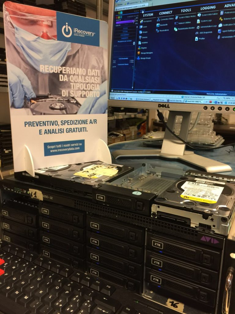 Recupero Dati Server AVID