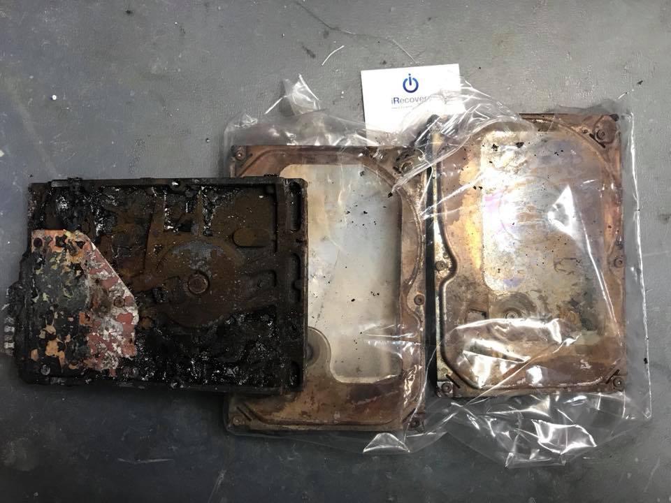 come fare recupero dati da hard disk rotto fisicamente o danneggiato